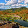 The Balsams Resort Autumn. by Jeff Sinon