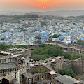 The Blue City Of Jodhpur. by Usha Peddamatham