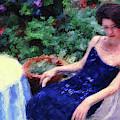 The Blue Dress by Jeff Breiman