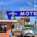 The Blue Swallow Motel On Route 66 by JC Findley