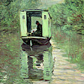 The Boat Studio, 1876 by Claude Monet