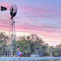 The Boots And Windmill On Willow City Loop by JC Findley