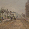 The Boulevard Heloise In Argenteuil By Claude Monet by Claude Monet