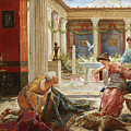 The Carpet Sellers by Ettore Forti