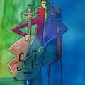 The Cellist by Lorraine Germaine