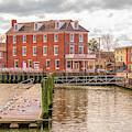 The Central Hotel - Delaware City by Kristia Adams