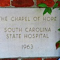 The Chapel Of Hope South Carolina State Hospital 1963 by Lisa Wooten