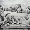 The Chess Game by Susan Frech-Sims