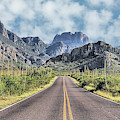The Chisos Mountains by JC Findley