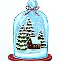 The Christmas Terrarium by Elizabeth Robinette Tyndall