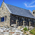 The Church Of The Good Shepherd, New Zealand by Lyl Dil Creations