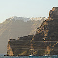 The Cliff Of Santorini, Greece by Didier Marti