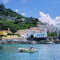 The Colorful Amalfi Coast  by Robert Bellomy