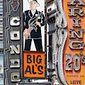 The Condor The Original Big Als And Roaring 20s Adult Strip Clubs On Broadway San Francisco R467 Sq by Wingsdomain Art and Photography