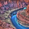The Curve Horseshoe Bend Colorado River Art by Reid Callaway