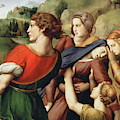 The Deposition, Detail, 1507 by Raphael
