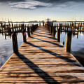 The Dock 013 - Digital Art by Ericamaxine Price