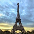 The Eiffel Tower - Paris by Luther Fine Art