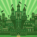 The Emerald City by Mark Gillespie