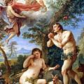 The Expulsion From Paradise by Charles Joseph Natoire 1700-1777