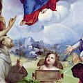The Foligno Madonna, Detail by Raphael