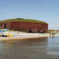 The Fort At Ships Island by Susan Rissi Tregoning