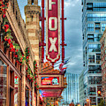 The Fox Theatre Christmas Midtown Atlanta Georgia Art by Reid Callaway