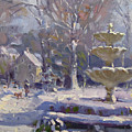 The Frozen Fountain by Ylli Haruni