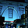 The Gateway Arch And The City by Carol Jackson