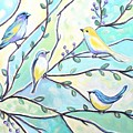 The Glass Birds by Elizabeth Robinette Tyndall
