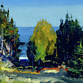 The Grove  Monhegan, 1911 by George Wesley Bellows