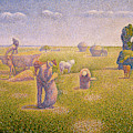 The Harvesters, 1892 by Charles Angrand