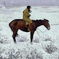 The Herd Boy, Circa 1905  by Frederic Remington
