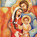 The Holy Family by Eva Campbell