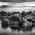The House Behind The Rocks by Borja Robles