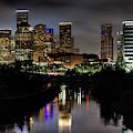 The Houston Skyline by JC Findley