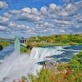 The Incredible Beauty Of Niagara Falls by Lynn Bauer