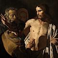 The Incredulity Of Saint Thomas by Matthias Storm