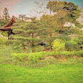 The Japanese Landscape - Kew Gardens - Painterly by Leigh Kemp