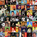 The King, Elvis Presley by Max Huber