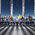 The Last Supper 2 by Walter Neal