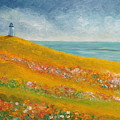 The Lighthouse Meadow by Angeles M Pomata