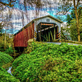 The Lime Valley Covered Bridge by Nick Zelinsky