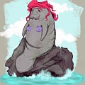 The Little Manatee  by Ludwig Van Bacon