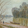 The Loire by Alfred Sisley