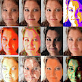 The Many Faces Of An Artist by Paulette B Wright