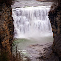 The Middle Falls by Jim Lepard