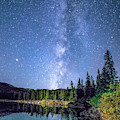 The Milky Way Over Echo Lake by Tim Kathka