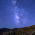 The Milky Way Over Mt. Evans by Tim Kathka
