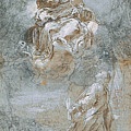 The Miracle Of The Sacred Belt  Rec  by Federico Barocci
